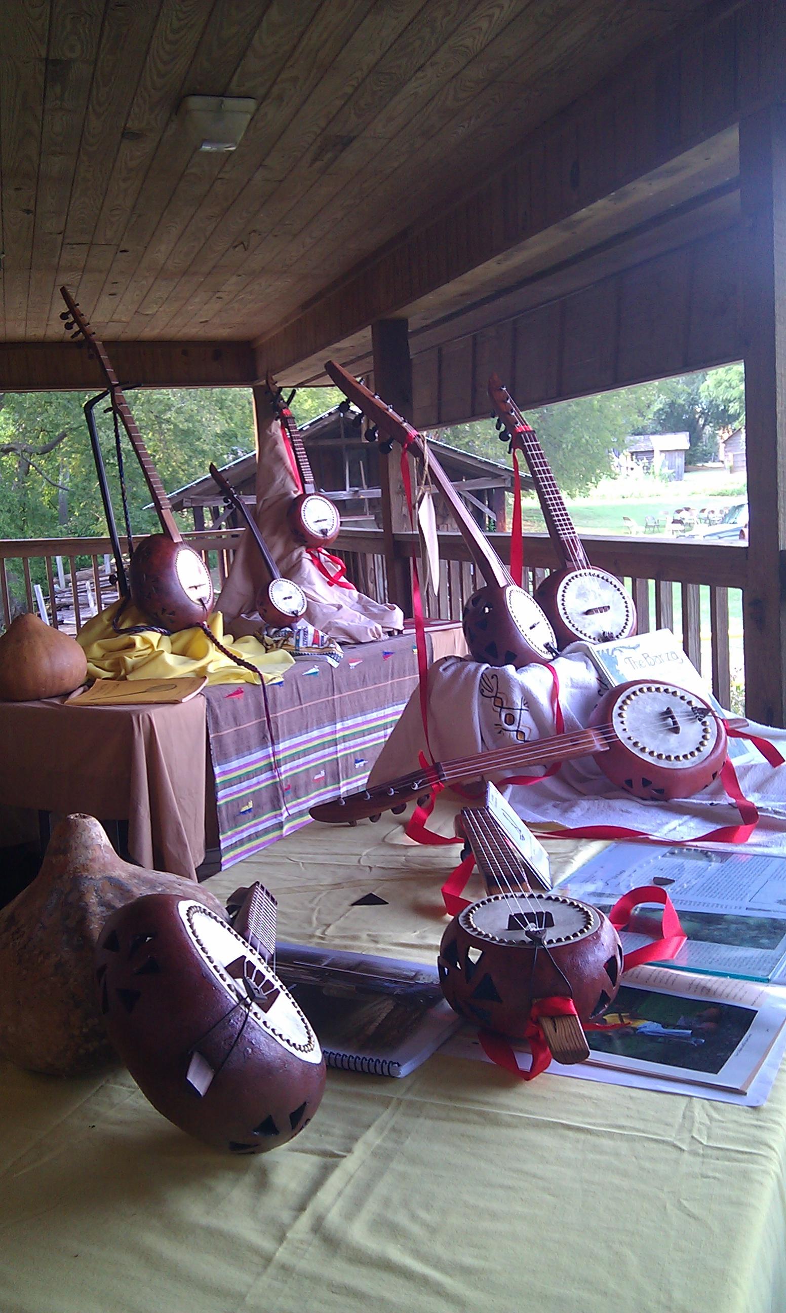 Banzas at celtic fest in Jackson, Mississippi